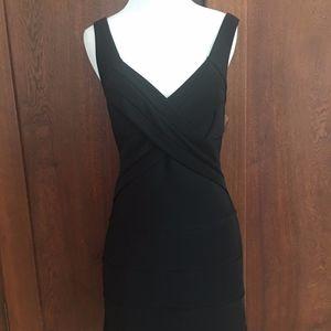 Black Bandage Dress Emerald Sundae Medium